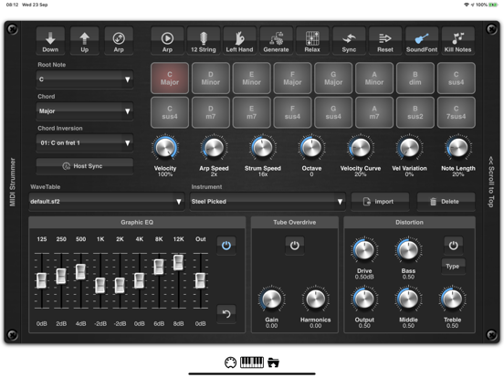 MIDI Strummer AUv3 Plugin screenshot 6