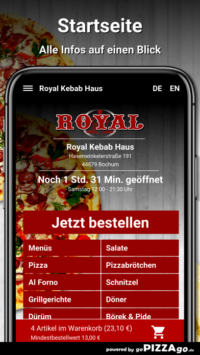 Royal Kebab Bochum screenshot 2