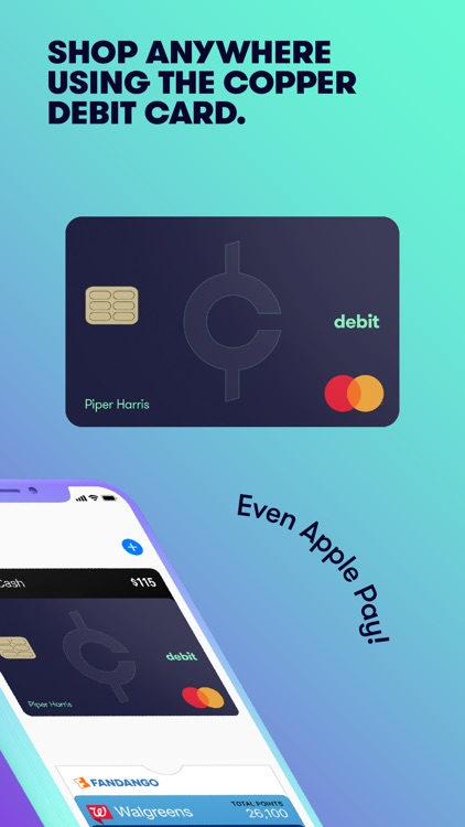 Copper Banking-Teen Debit Card