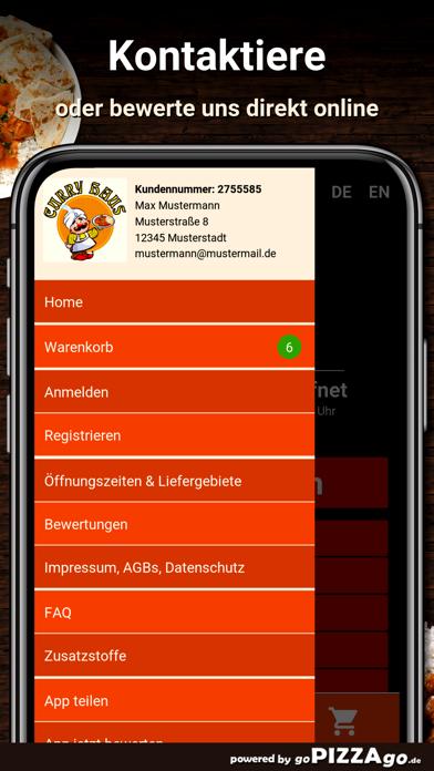 Curry Haus Dresden Pizza screenshot 3