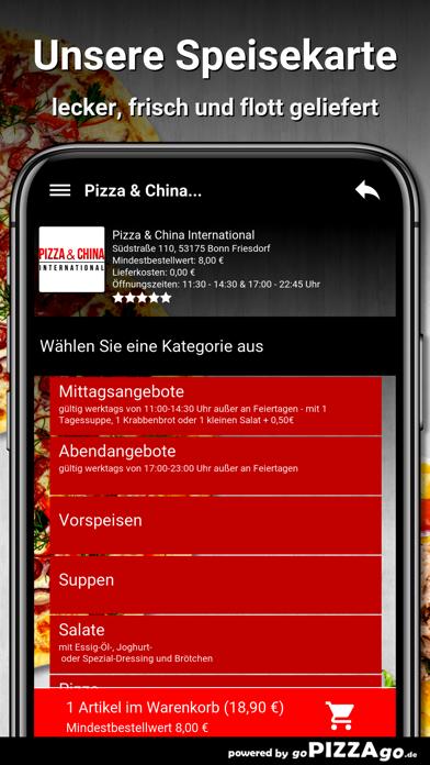Pizza China Bonn Friesdorf screenshot 4