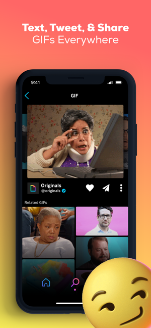 ‎GIPHY: The GIF Search Engine Screenshot