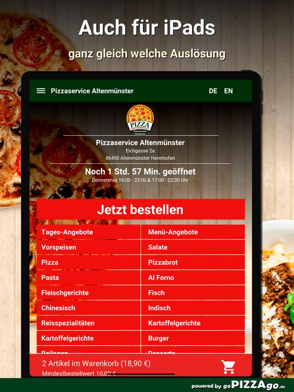 Pizzaservice Altenmünster screenshot 7