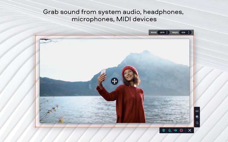 Screen Recorder Movavi Screenshots