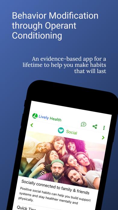 Lively Health screenshot 1