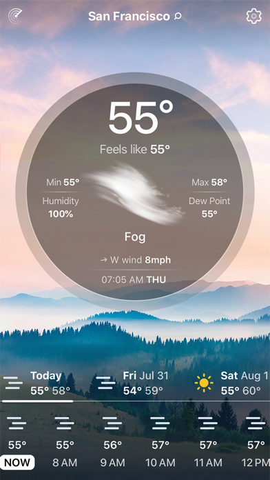 Weather Live° Screenshot