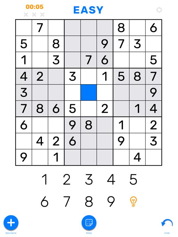 Sudoku (Classic Puzzle Game)のおすすめ画像1