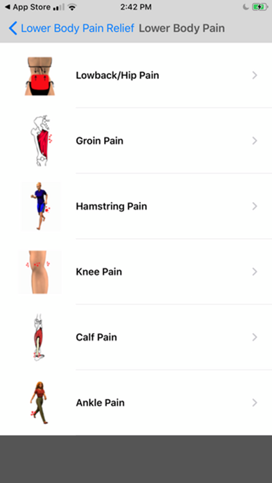 Stretch For Pain Relief Lowerのおすすめ画像3