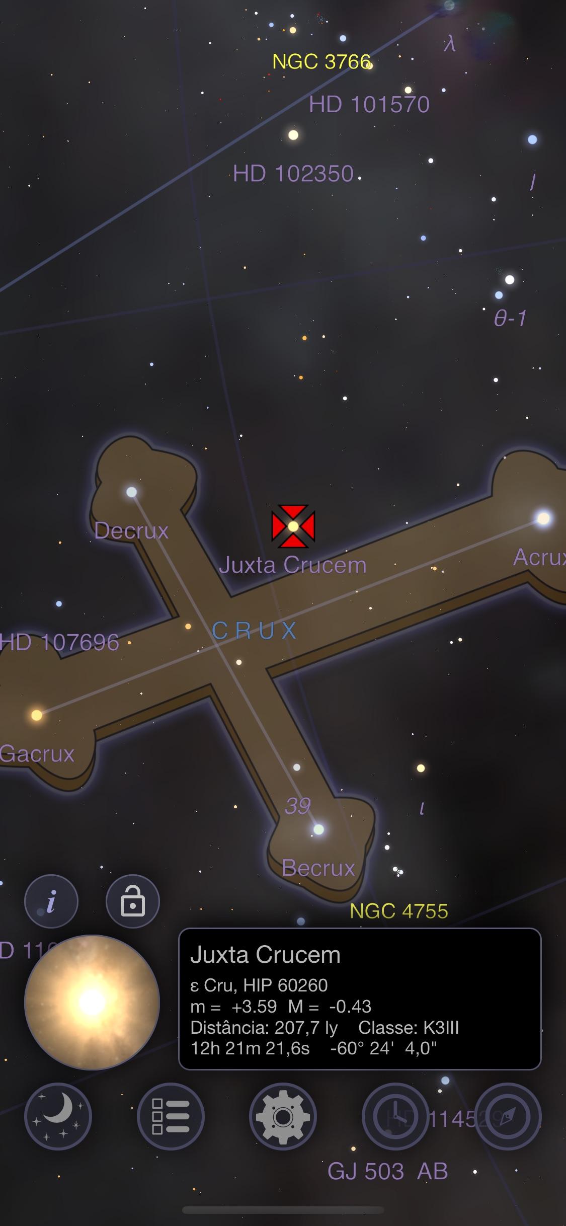 Screenshot do app Astro 3D+