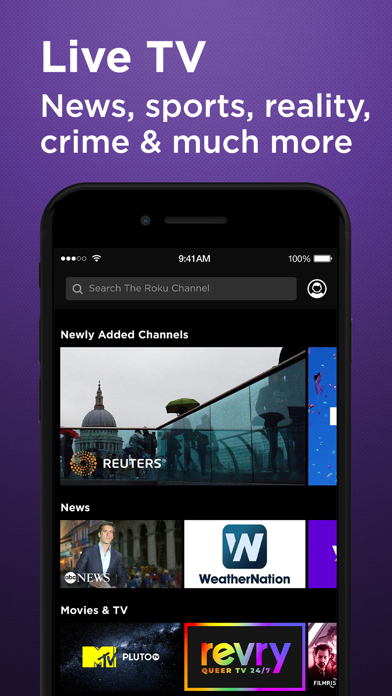Roku Channel: Movies & Live TV screenshot 4