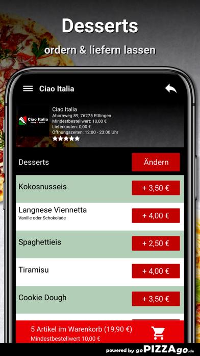 Ciao Italia Ettlingen screenshot 6