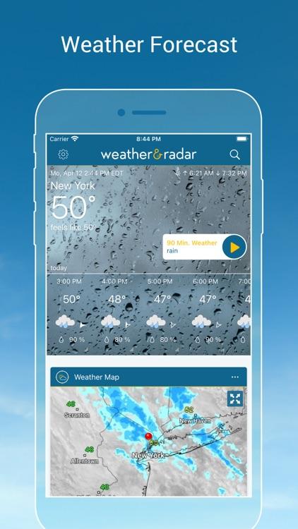 Weather & Radar - Storm alerts screenshot-0