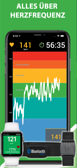 ‎iCardio Workout Tracker Screenshot