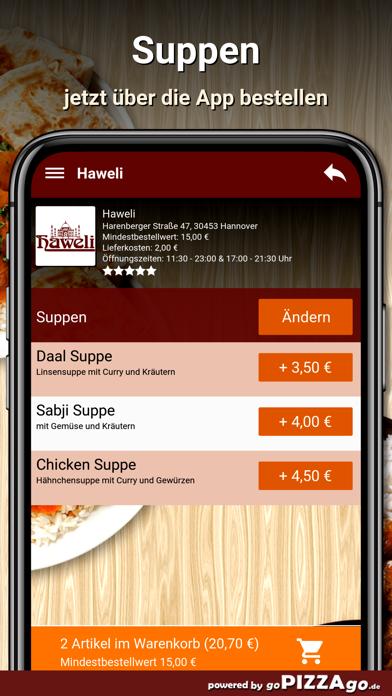 Haweli Hannover screenshot 5