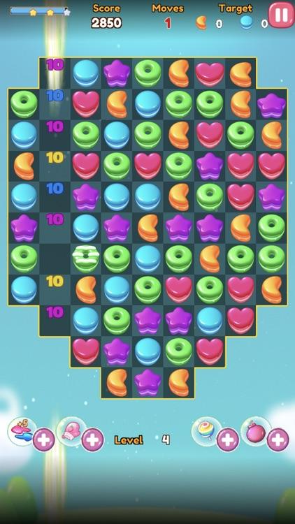 Jelly Fruit Candy Jam Pop screenshot-7