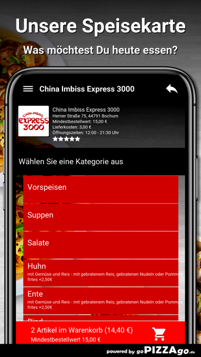 China Express 3000 Bochum screenshot 4