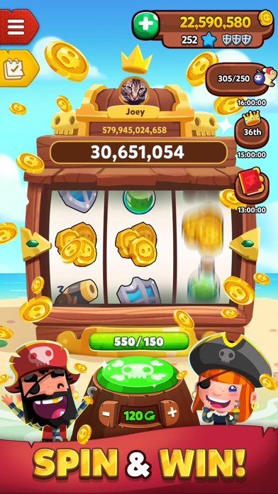 Pirate Kings™ free Coins and Cash hack