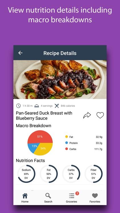 Gourmet Recipes: Fancy Meals screenshot-3