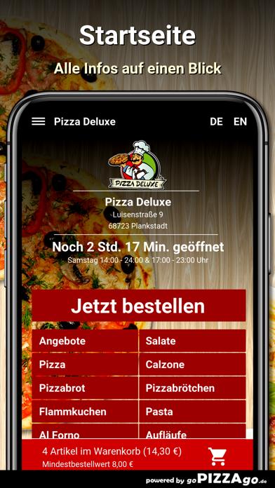Pizza Deluxe Plankstadt screenshot 2