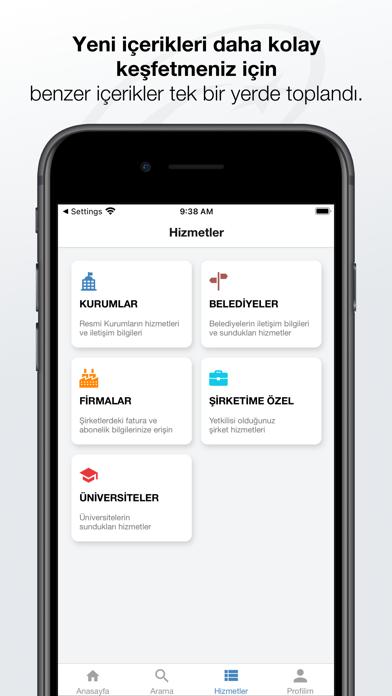 e-Devlet iphone ekran görüntüleri