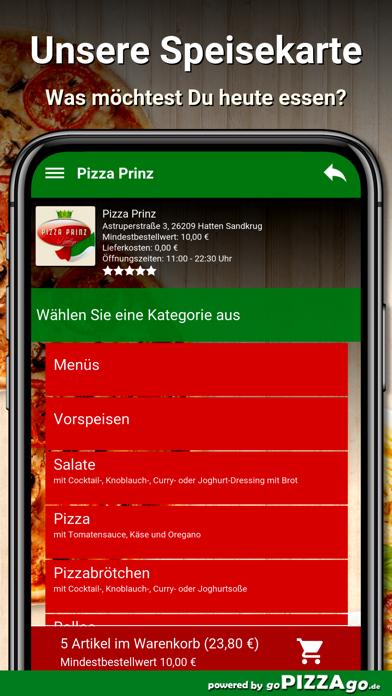 Pizza Prinz Hatten Sandkrug screenshot 4