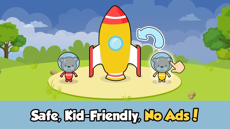 Puzzle games for 2 year olds screenshot-4