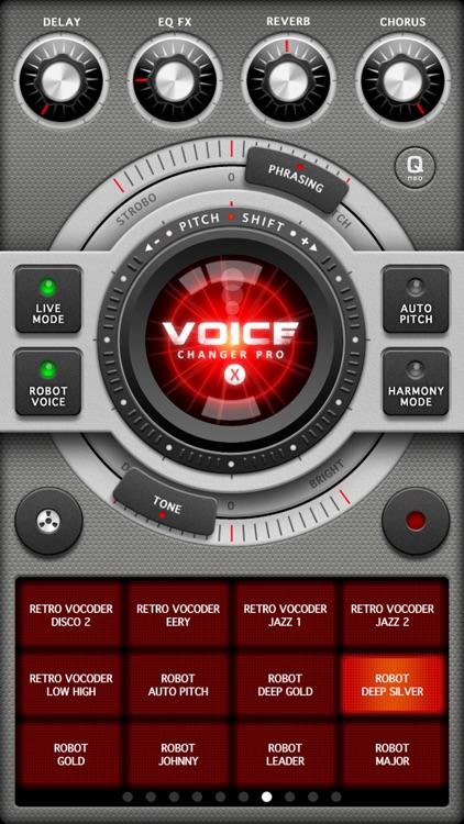 Voice Changer Pro X