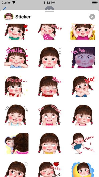 Doll Braid Sticker screenshot-3