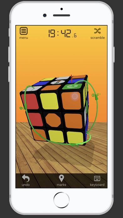 3D Rubik's Cube screenshot 2