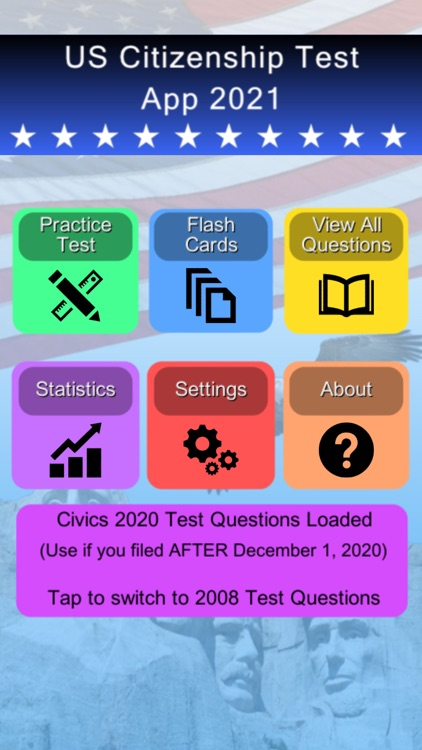 US Citizenship Test App 2021