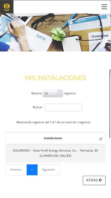 Solar Profit - Portal ClienteCaptura de pantalla de3