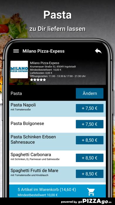 Milano Pizza-Expess Ingolstadt screenshot 5