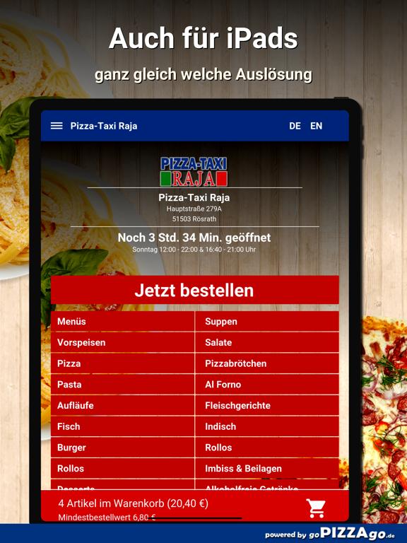 Pizza-Taxi Raja Rösrath screenshot 7