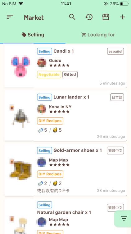 Ani Market for Animal Crossing