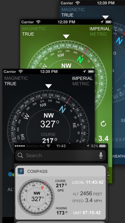 Compass GPS(Map, Weather) screenshot-5