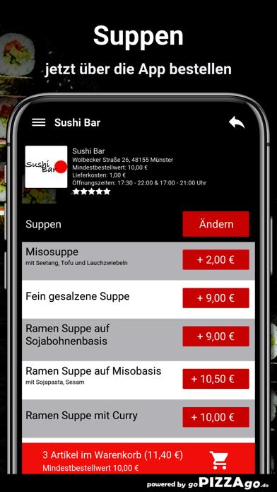 Sushi Bar Münster screenshot 5