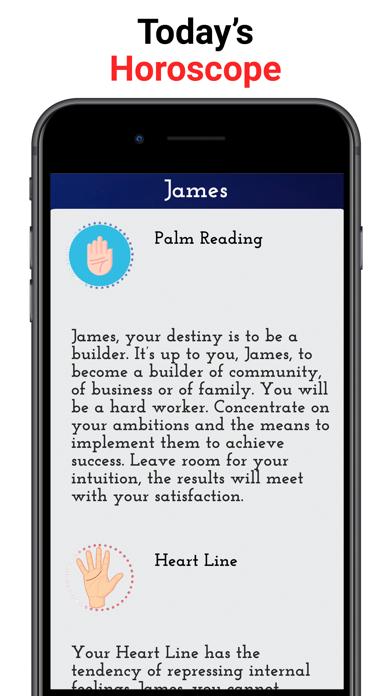 Palm Reader ∙ Screenshot