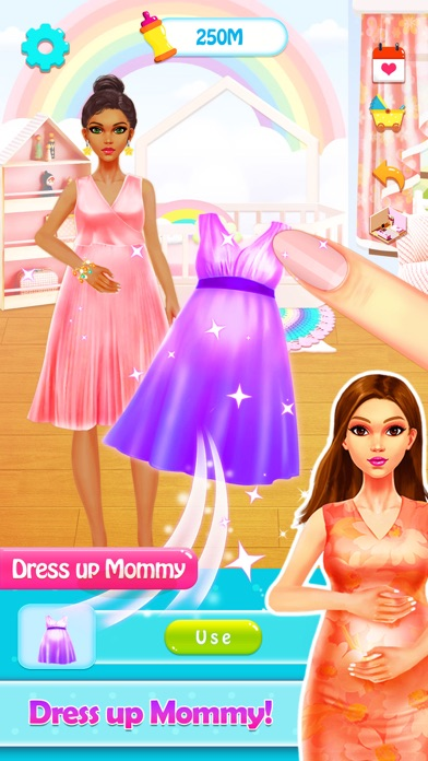 Baby Games: Pregnant Mom Care Screenshot on iOS