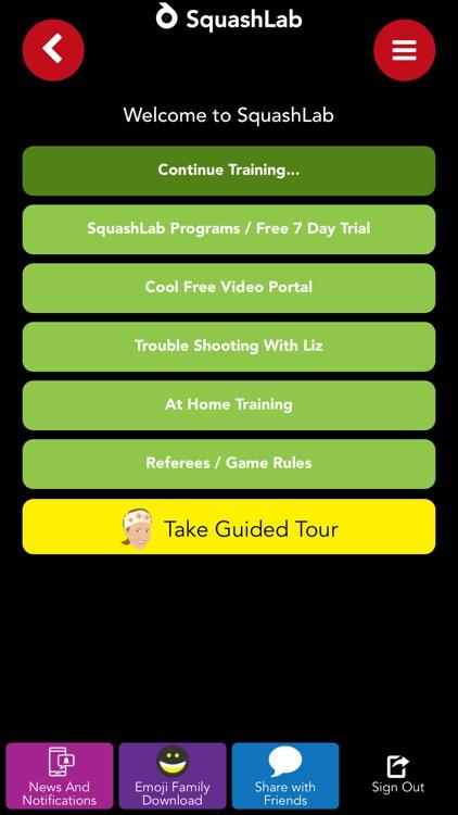 SquashLab - Squash Training