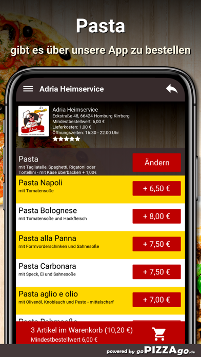 Adria Heimservice Homburg screenshot 6
