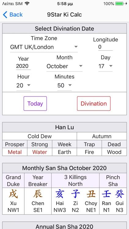 Nine Star Ki Astrology screenshot-3
