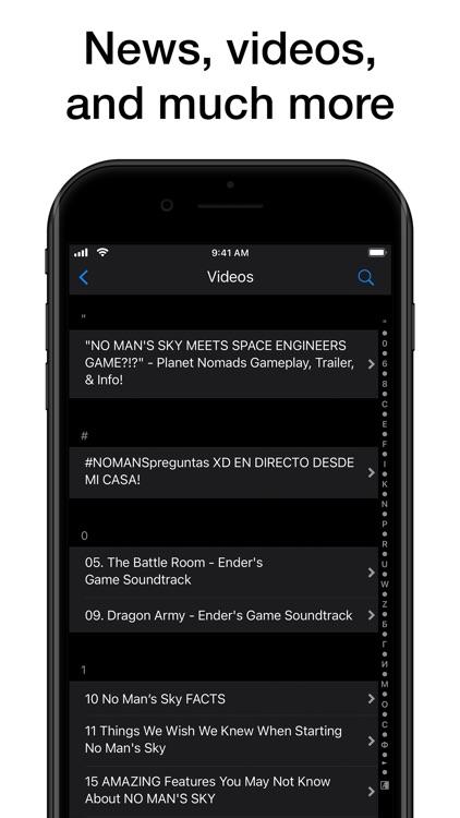 Pocket Wiki for No Man's Sky screenshot-9