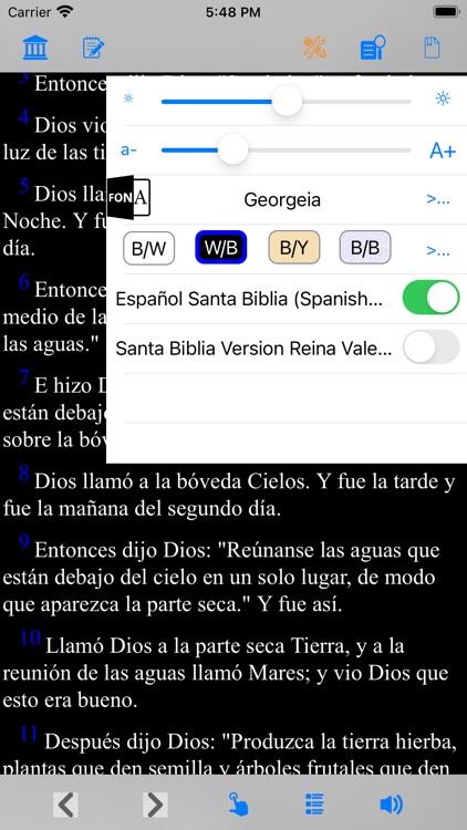 Español Santa Biblia (Modern) screenshot-4