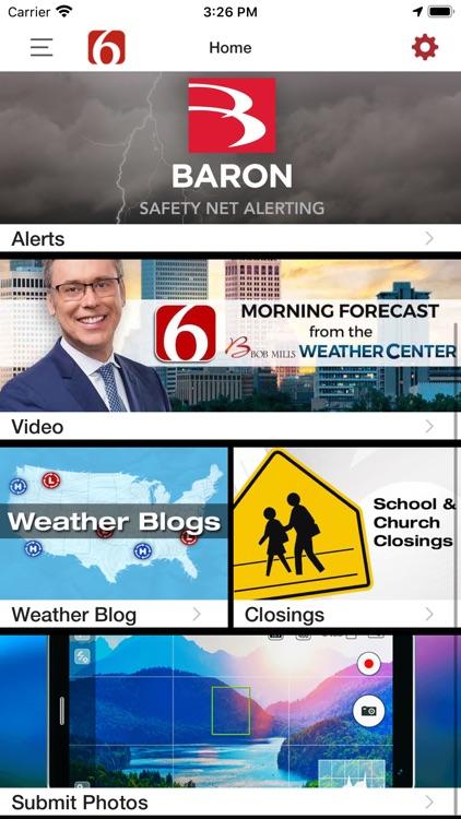 News on 6 Weather screenshot-4
