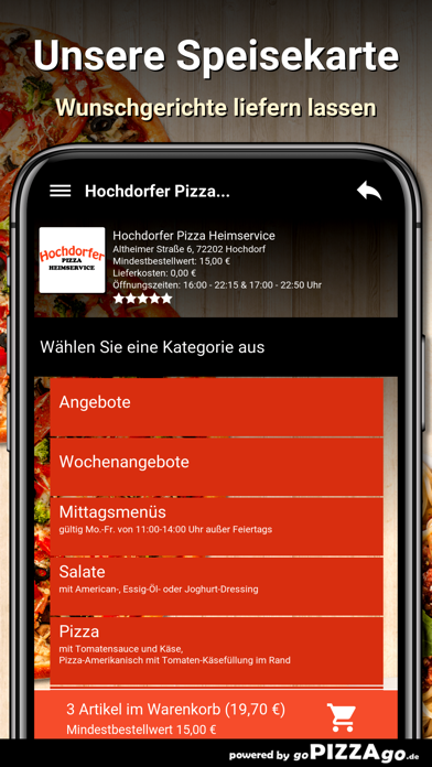 Hochdorfer Pizza Hochdorf screenshot 4