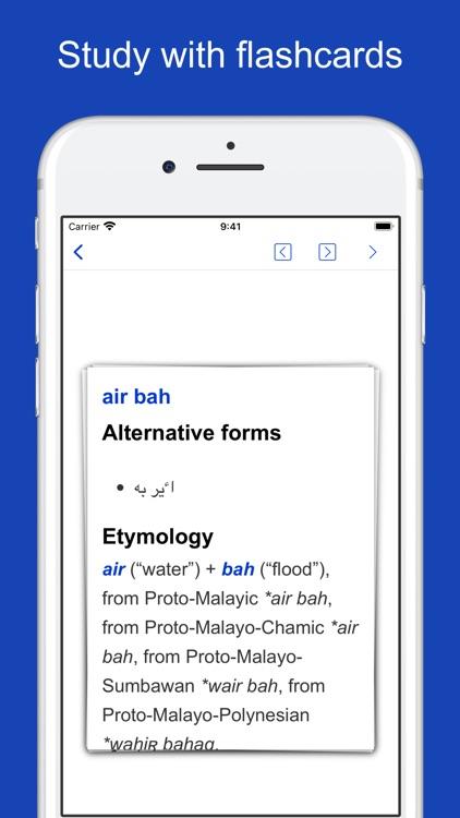 Malay Origin Dictionary screenshot-7
