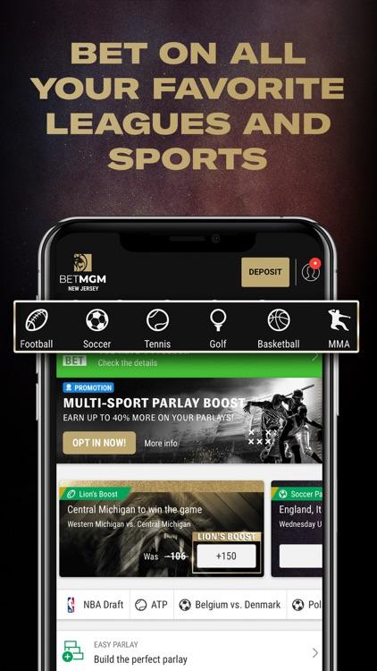 BetMGM Sportsbook screenshot-0