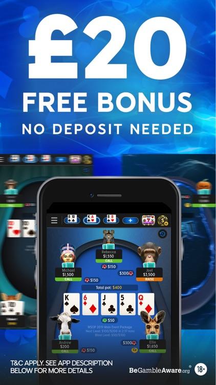 888 Poker -Texas Holdem online screenshot-0