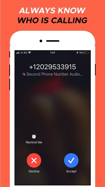 Second Phone Number screenshot-5