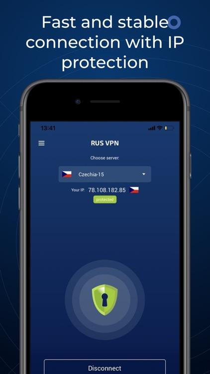 Super VPN Proxy: RusVPN screenshot-0